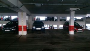 Улётная парковка Внуково